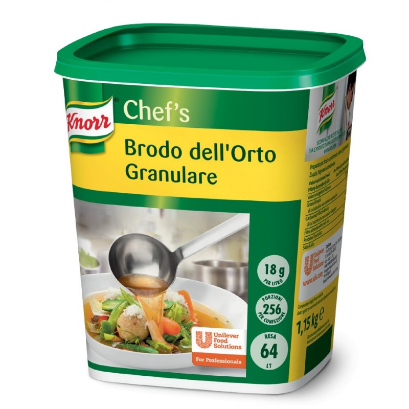 Brodo dell'orto Granulare Knorr 1kg