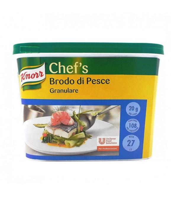 Brodo di pesce granulare Knorr 500gr