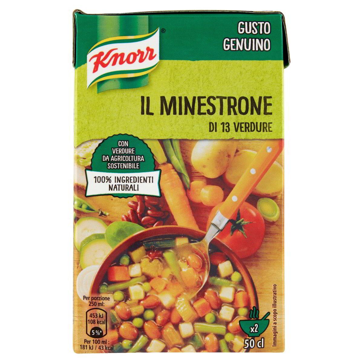 Il Minestrone Knorr 500ml