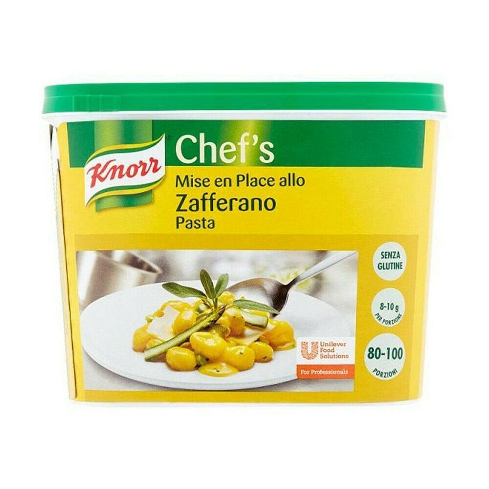 Zafferano in pasta Knorr 800gr
